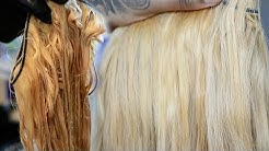 Beginner lace series | Bleaching hair blonde | Does boiling hair work ACTUALLY WORK!?!? | Part 1
