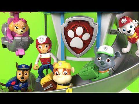 paw-patrol-lookout-playset-chase-zuma-sky-marhall-rocky-patrulla-de-cachorros-boys-toys