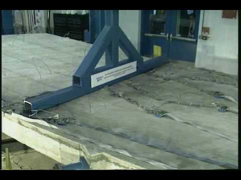 Carbon Fiber Reinforced Polymer Bridge Testing