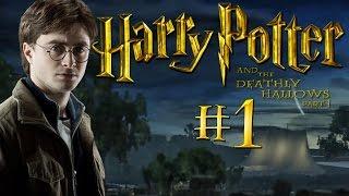 Гарри Поттер и Дары Смерти. Часть 1 - Прохождение #1