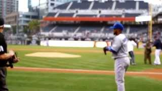 Resident Throws Ceremonial First Pitch at Padres Game - Carmel Valley San Diego 92130
