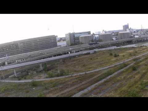 Stücki Area Basel Drone Flight