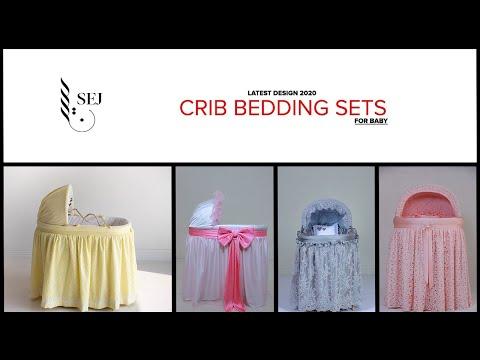 CRIB BEDDING SETS | SEJ | LATEST DESIGN 2020 | #CRIBBEDDING #COTBEDDING #CRIBBASKET #BABYBED