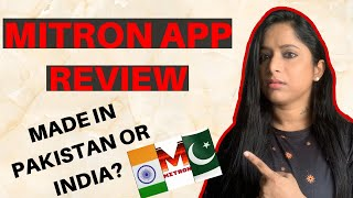 IS MITRON APP MADE IN PAKISTAN OR INDIA ? Will it replace tiktok? REVIEW in Malayalam by Gayathry