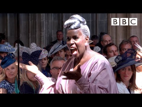 Stand  Me performed  Karen Gibson and The Kingdom Choir  The Royal Wedding  BBC