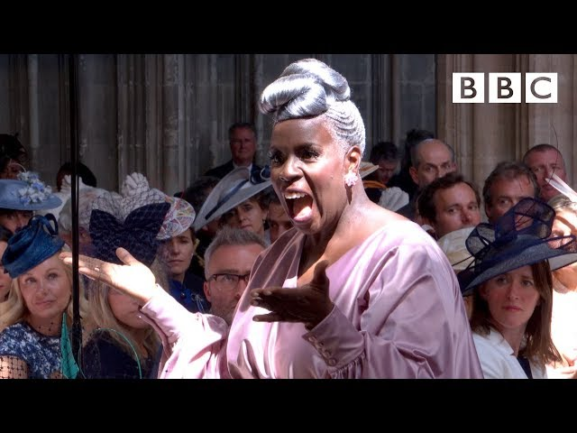 'Stand by Me' performed by Karen Gibson and The Kingdom Choir - The Royal Wedding - BBC