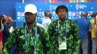 NIGERIA ARRIVE - MATCH 8 @ 2018 FIFA World Cup™