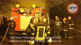 04.04.2017 КИЕВ ПОЖАР ТАТАРКА ПОЛОВЕЦКАЯ СПАСАТЕЛИ ГСЧС 2