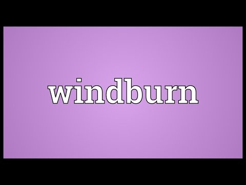 Header of windburn