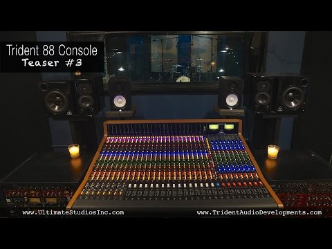 New Trident 88 Recording Console Teaser 3