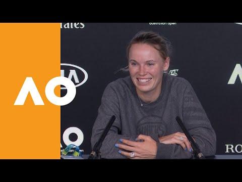 Caroline Wozniacki press conference (2R) | Australian Open 2020