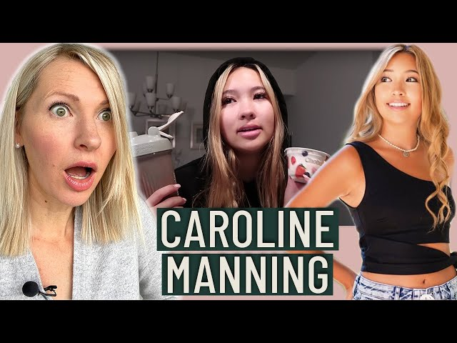 Dietitian Reacts to Caroline Manning's What I Eat in a Day (Adolescence is Not the Time to Diet)