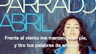 María Parrado-Quién Cambia soy yo LETRA