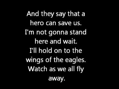 Chad Kroeger  Hero with lyrics