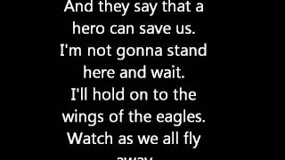 Chad Kroeger - Hero with lyrics