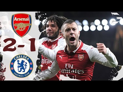 Download Arsenal vs Chelsea 2-1 ● All Goals (24/01/2018) HD