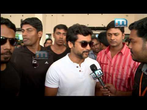 Actor Surya In Kochi,kerala