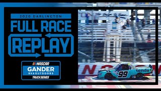 South Carolina Education Lottery 200 from Darlington Raceway | NASCAR Truck Series Full Race Replay