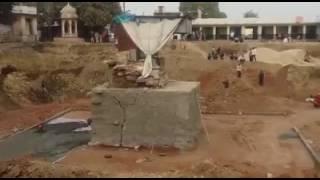 गिरते हुए दुधाखेड़ी माता जी के मंदिर का Live Video
