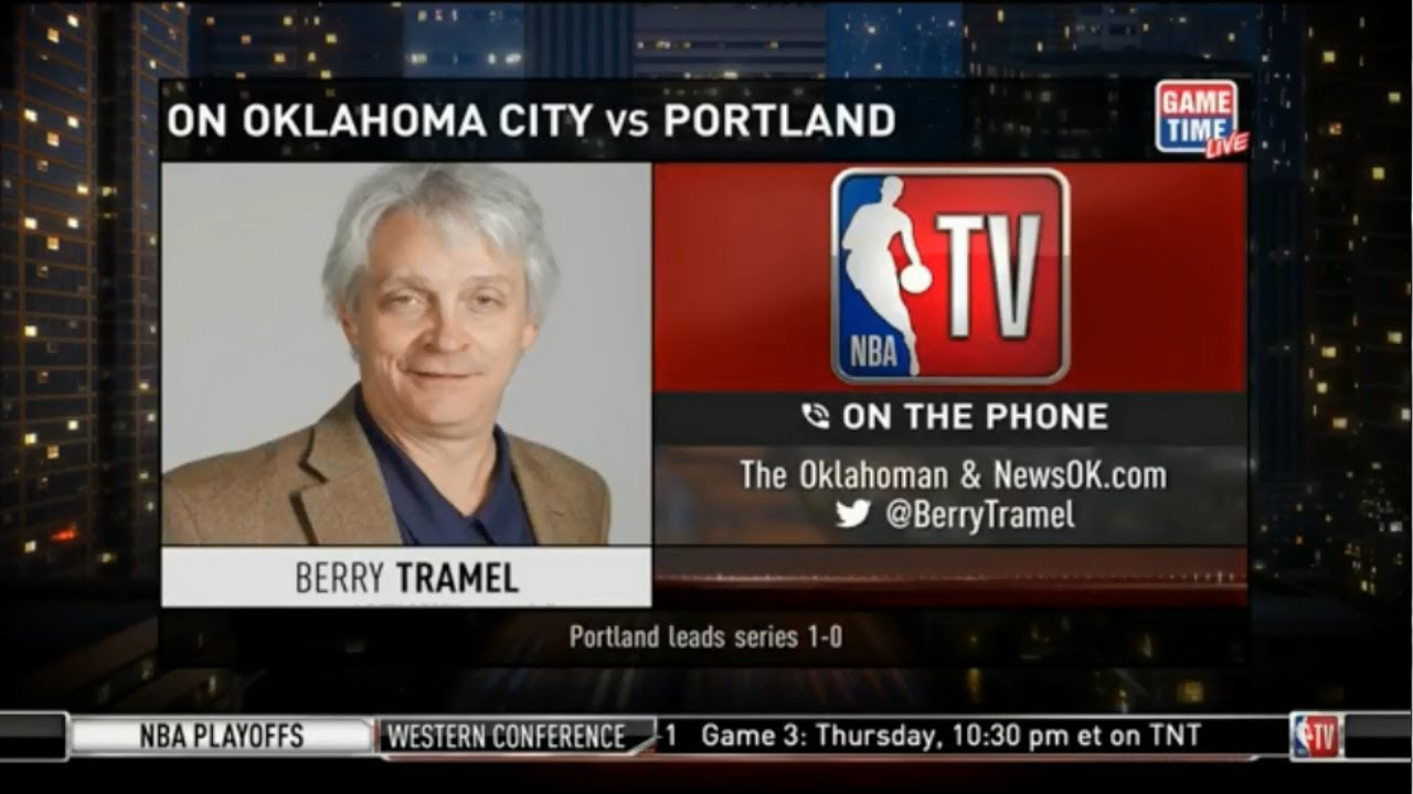 3d4d3c13140 Berry Tramel on Oklahoma City Thunder vs Portland Trail Blazers Pregame  Talk