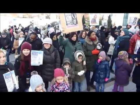 GAGNY : Manifestation GPI et FCPE devant la mairie (c) Actualités de GAGNY-BLOG