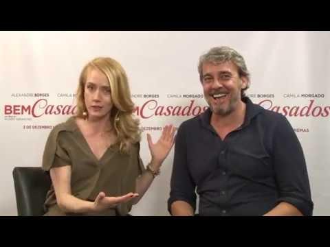 CAMIGA MORGADO e ALEXANDRE BORGES - com ERICA REIS
