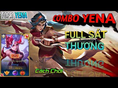 TOP 1 YENA | Hướng Dẫn Cách Chơi Yena Combo Full Sát Thương Mùa 15 | Liên Quân Mobile |Aov Rov 펜타스톰