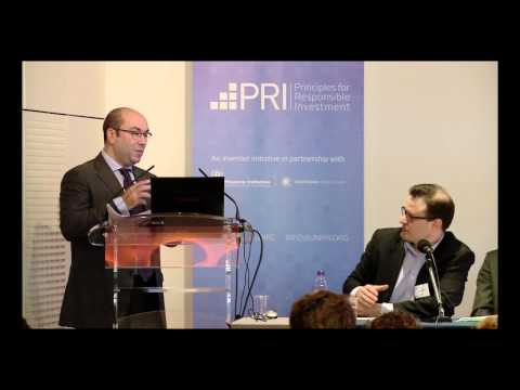 PRI - CDC AN CONFERENCE 2013, La Chaire Finance Durable et Investissement Responsible plenary panel