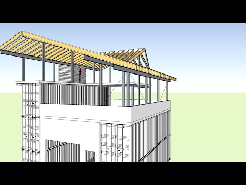 Andrew Camarata's Container Home Roof System