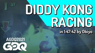 Diddy Kong Racing by Obiyo in 1:47:42 - Awesome Games Done Quick 2021 Online