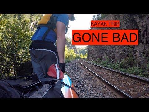 Kayak Portage Trip Emergency Evacuated by CN Rail
