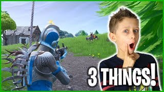 3 THINGS I DO IN 3 GAMES