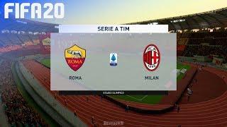 FIFA 20 - AS Roma vs. AC Milan @ Stadio Olimpico