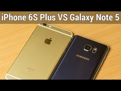 iPhone 6S Plus VS Galaxy Note 5 сравнение. Выбор фаблета от Apple и Samsung от FERUMM.COM