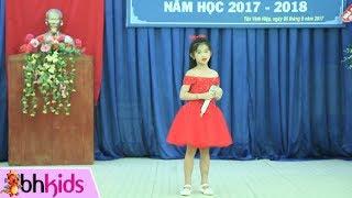 Mái Trường Mến Yêu - Bé Thanh Hằng | Nhạc Thiếu Nhi