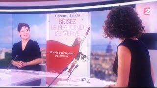 Florence Sandis sur le JT de France 2