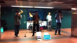 Live band @Subway 34th Street NY Penn Station