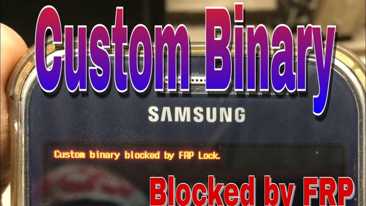 Custom Binary Blocked By Frp Lock J1 Ace