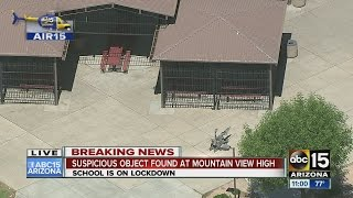 Lockdown Ordered At Mountain View High School