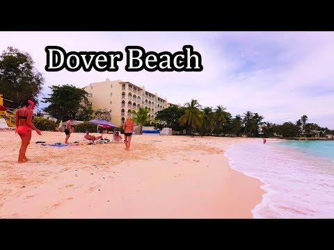 4K - Barbados 2017 - Walking Dover Beach  - Sept