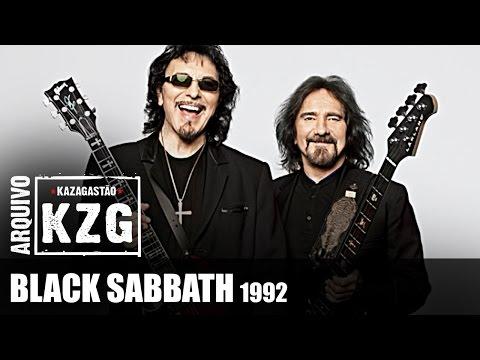 Arquivo KZG - BLACK SABBATH (1992) - entrevistados por Gastão Moreira