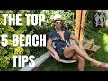 Top Five Tips For Men To Looking Good On The Beach | Man's Guide To Beach Fashion