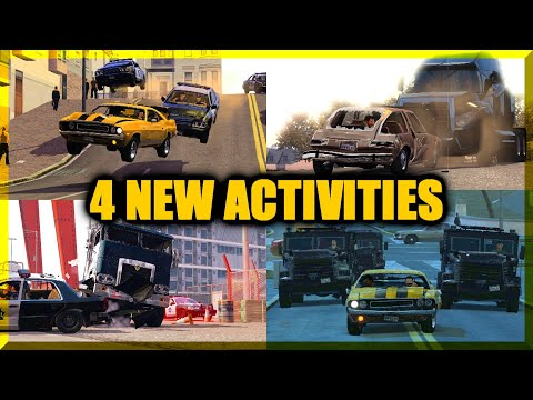 Driver San Francisco  4 NEW Activities! (Mod For PC) Playthrough