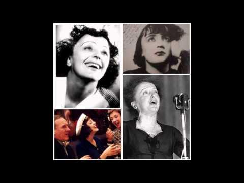 Edith  Piaf - Letras Intimas