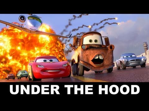 movie bytes cars 2 inside pixar 39 s garage beyond the. Black Bedroom Furniture Sets. Home Design Ideas