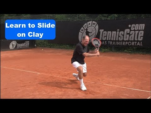 Tennis Tip - Learn to Slide on Clay