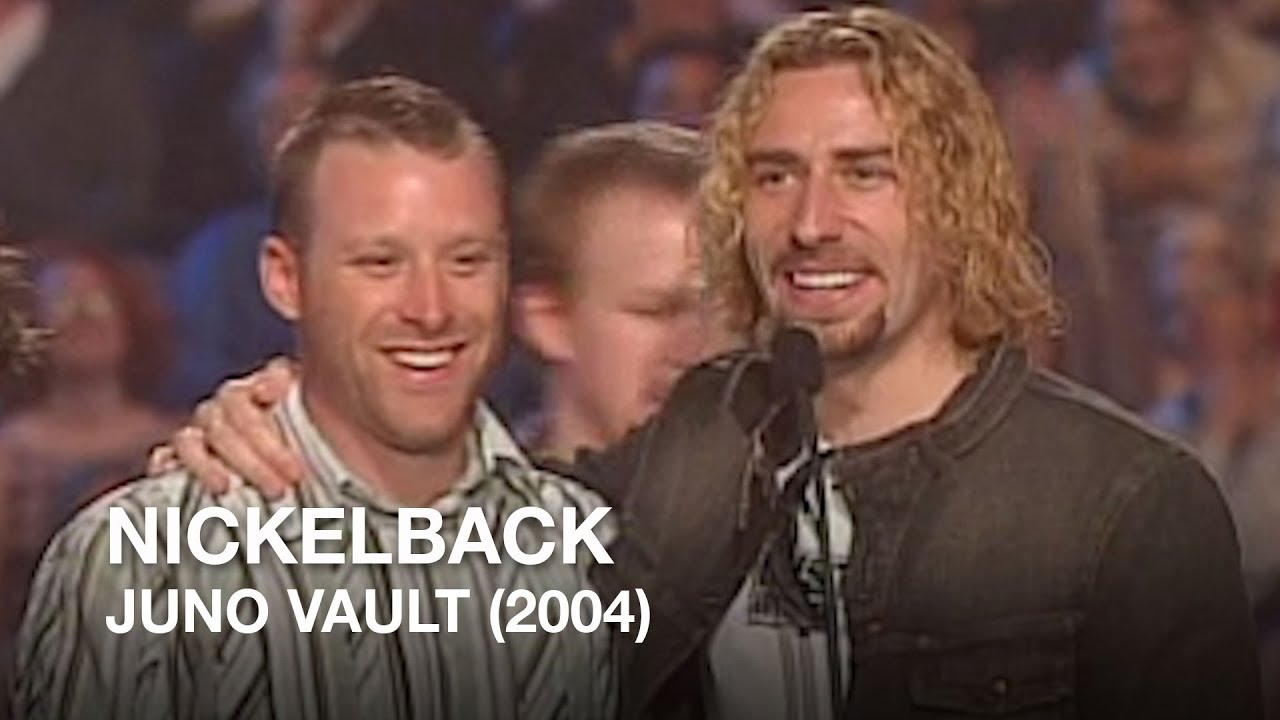 Nickelback wins juno fan choice for 2004 juno vault youtube nickelback wins juno fan choice for 2004 juno vault m4hsunfo