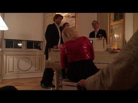 Operettekompagniets julekoncert på Frederiksberg Slot lørdag 17. dec. 2016