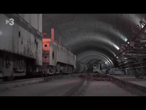 Reportatge al TN migdia (TV3) sobre el tram central de la L9 #volemL9