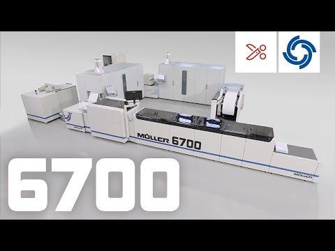 Müller 6700 with Océ ColorStream 6000.